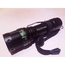Lámpara Linterna Táctica Police Led Xml-t6 900w 1800 Lumens