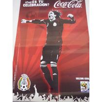 Poster Coca Cola Sudáfrica 2010 Memo Ochoa