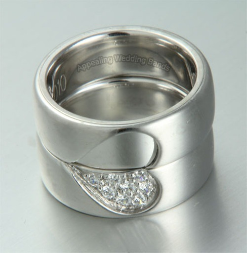 His and Hers Wedding Rings  Orla James