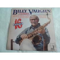 Billy Vaughn Y Su Orquesta 16 Éxitos/ Lp Vinil