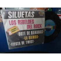 Los Rebeldes Del Rock Discos De Acetato Lp Sencillo Twist