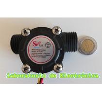 Sensor De Flujo De Líquidos. Caudalímetro 1 A 30 Litros/min