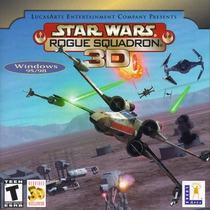 Star Wars:rogue Squadron 3d Windows 85-milenium /juego Pc-cd