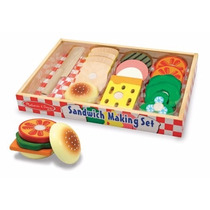 Set De Sandwich De Madera Juguete Melissa & Doug