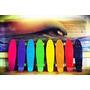 Patineta Retro Colores 22 Pulgadas Grande Skate En Stock