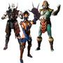 Mortal Kombat X 10 Series 2 Kitana Kotal Kahn Quan Chi Ps4