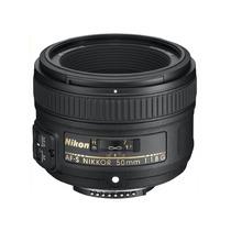 Lente 50mm F/1.8g Af-s Nikkor Fx Para Nikon D Reflex Slr