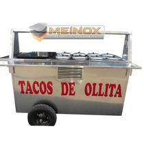 Carrito Para Tacos De Ollita