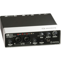 Yamaha Steinberg Ur22 Interfase Usb Hasta 24 Bit. Nuevo