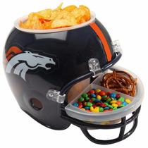 Casco Nfl Denver Broncos Botanero Cervecero Mn4