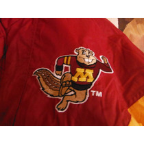 Chamarra Minnesota Beavers American College Football Retro