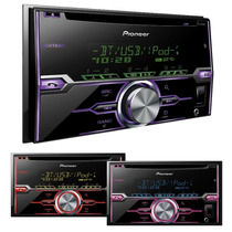 Estereo Pioneer Fh-x720bt Bluetooth 2 Doble Din 2015 + New