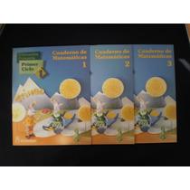 Lote Cuaderno De Matemáticas 1, Primer Ciclo 1, Trineo