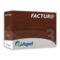 Aspel Facture 3.0 (anual Con Timbrado Ilimitado) (fisico)