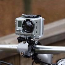 Montura Manubrio Bicicleta Gopro Accesorio Adaptador Bici
