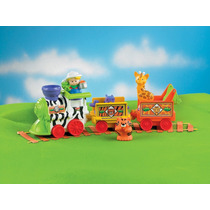 Tb Juguete Fisher-price Little People Musical Zoo Train