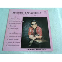 Marimba Tapachula De Carlos F. Lavariega/ Lp Vinil Acetato