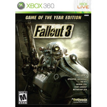 Fallout 3 Game Of The Year Platinum Hits Xbox 360 Nuevo