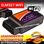 Elm327 Escaner Automotriz Obd2 Wifi Universal Apple Android