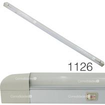 Luminario Interior Fluorescente T8 Lampara Acrilico 1x32 W