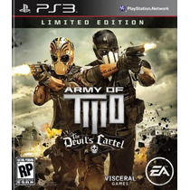 Army Of Two The Devils Cartel Ps3 :videojuegos Ordex: