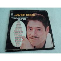 Javier Solis Álbum Triple Éxitos / 3 Lp Vinil Acetato