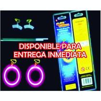 10 Pzas De Arete De Neon