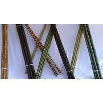 Piezas De Bambú Decorativas - Tono Natural (pieza 2 Metros)