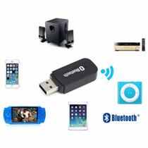 Receptor Usb De Música Bluetooth Audio 3.5 Aux Autos Bocinas
