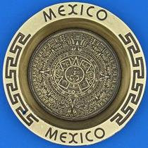 Plato De Adorno De Calendario Azteca México