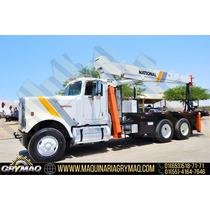 Grua Titan 17.5 Tons Camion International 1988 Gruas Titan