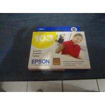 Tinta Epson 103 Amarillo