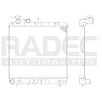 Radiador Dodge Atos 2000-2004 L4 1.0 Lts Estandar