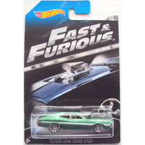 Hot Wheels 2013, Fast & Furious,´72 Ford Gran Torino Sport