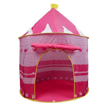 Casita Tienda De Campaña Plegable Portátil Rosa Princesa.