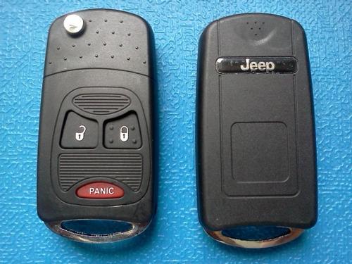 Carcasa Llave Navaja Jeep, Dodge Y Chrysler. Liberty, Compas