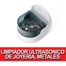 Limpiador De Joyeria Metales Protesis Dentales Ultrasonico