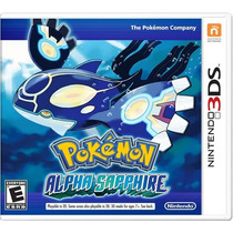 °° Pokemon Alpha Sapphire Para 3ds °° En Bnkshop