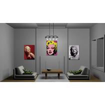 Cuadro Marilyn Monroe Canvas Impreso 70 X 50 Cm C/bastidor