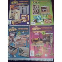Revistas Carpintería Hágalo Ud Mismo Hecho Casa 16,17,18,19