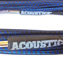 Cable Plug P/guitarra Tejido Alta Calidad 10mts Colores