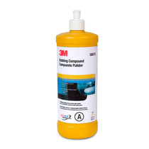 6pzas Pulimento Amarillo Rubbing Compound 3m Auto 946ml 5973