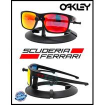 Oakley Sliver Ferrari Matte Black / Ruby Iridium Oo9262-12