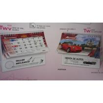 Promocional Calendario De Escritorio Base Vinil Con Tu Logo