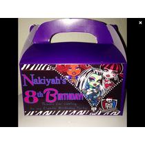 Monster High 10 Cajas Personalizadas Envió Sepomex 50 Pesos