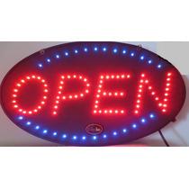 Letrero Anuncio Luminoso Led Abierto Open Hm4