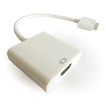 Cable Adaptador Convertidor Ipad Iphone 4 A Hdmi Pc Monitor