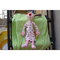 Peluche Pink Phanter Pantera Rosa Original Con Pijama 46cm