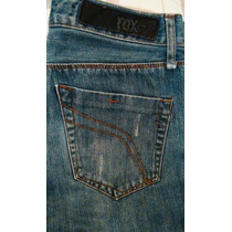Fox Denim Jeans Para Caballero 30x31. Dc, Vans, Rvca, Hurley