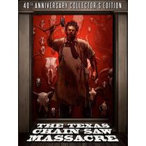 Masacre De Texas 40 Aniversario Pelicula Blu-ray + Dvd